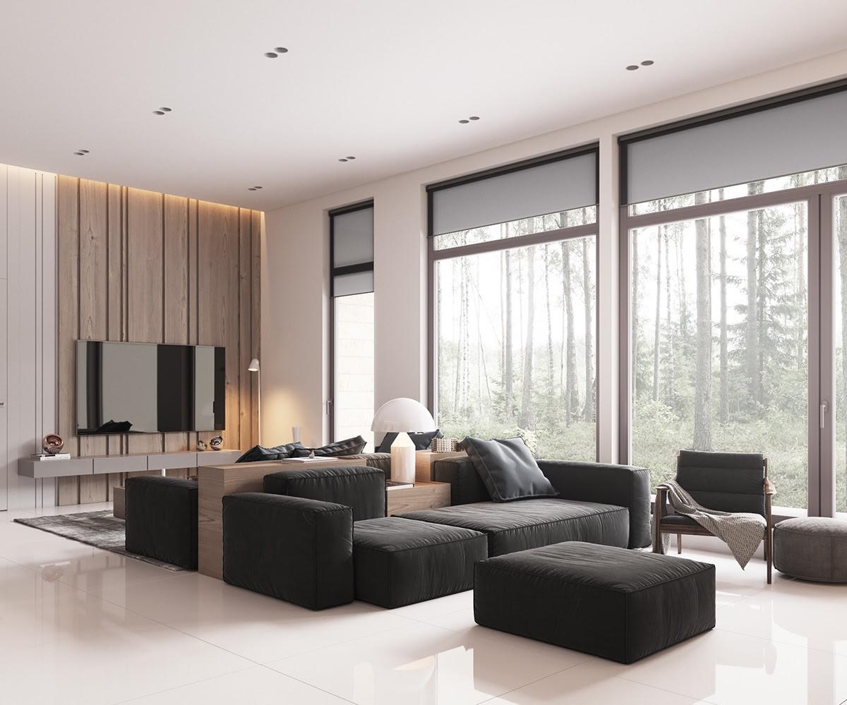 modern dining room interiors ...