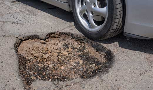 Is Pothole Damage Covered? — Allstate