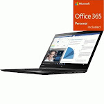 "Lenovo ThinkPad X1 Yoga 3rd Gen 20LES5L700 14"" Touchscreen 2 + Office 365 Bundle"