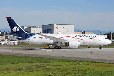 AeroMexico Boeing 787-8 Dreamliner N964AM (msn 35307) PAE (Nick Dean). Image: 913645.