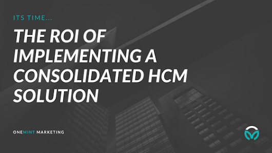 Learn how to save thousands of dollars a year with a HCM Strategy!