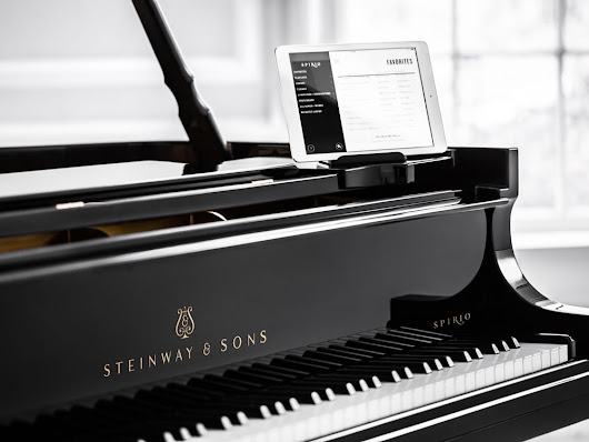 Steinway & Sons' Spirio self-playing piano tries to deliver a true live performance like musical experience