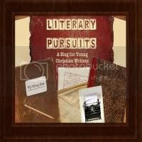 Literary Pursuits Button