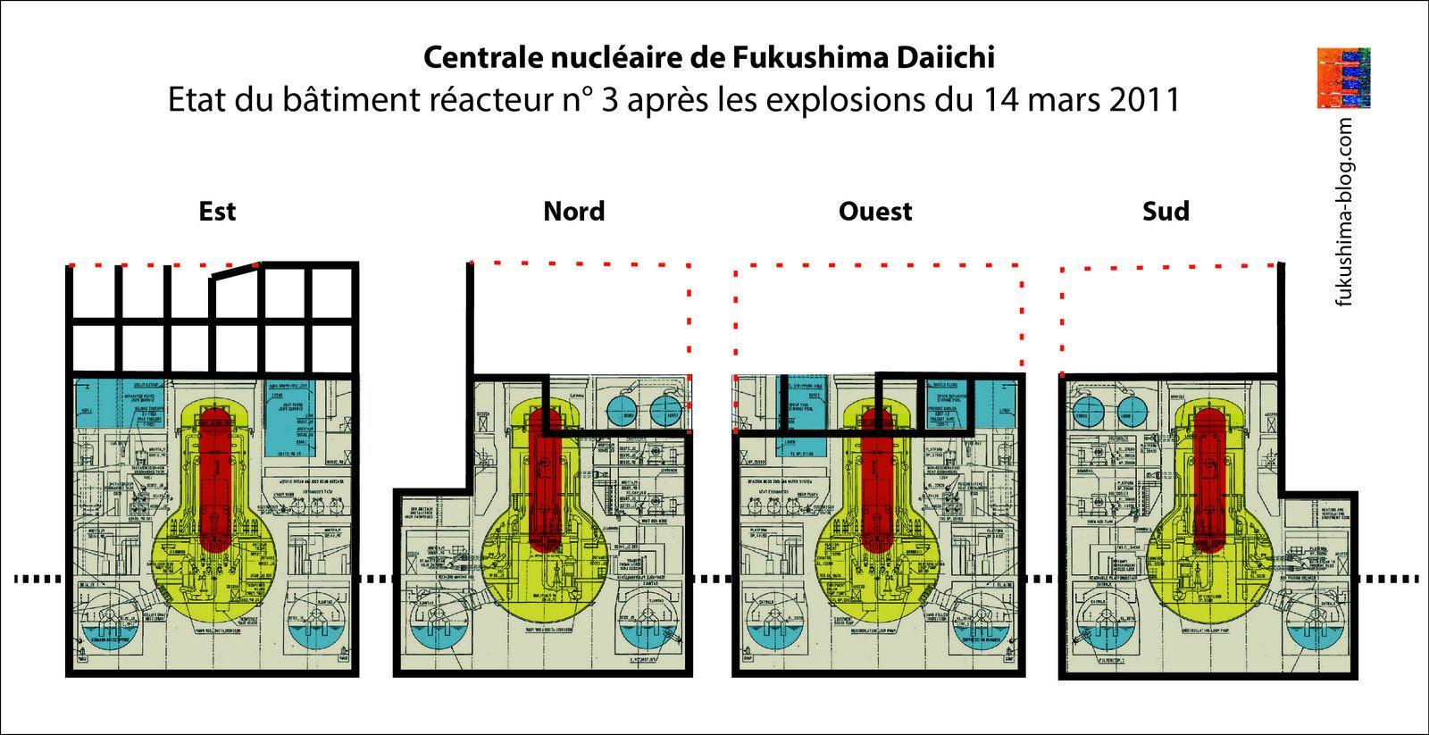 Fig. 28 : Elévations des façades du BR3