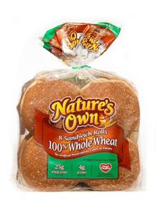 natures own buns 225x300 $0.55 off Natures Own Bread Coupon