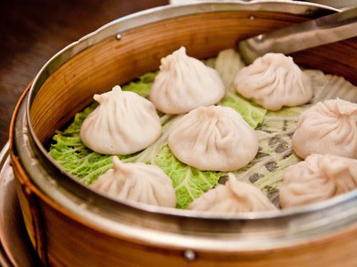 Some soup dumplings