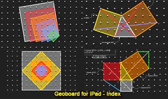 iPad Apps: Geoboard Gallery.