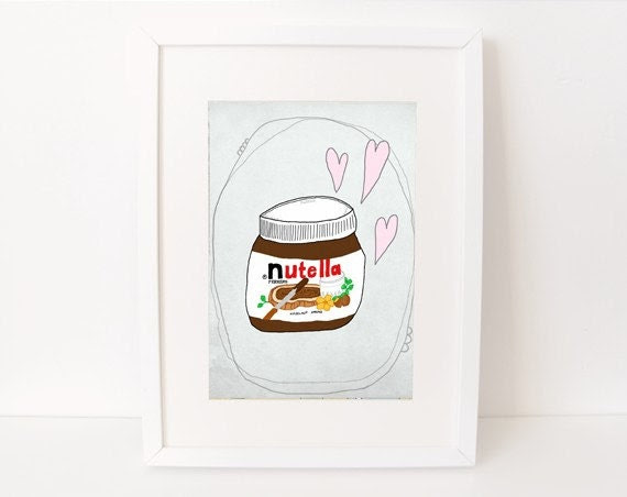 8 x 10 nutella love