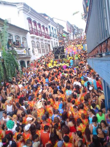 Ladeiras de ouro preto no carnaval