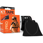 KT Tape Pro Kinesiology Therapeutic Tape - Black