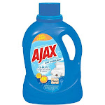 Ajax Ajaxx37 Oxy Overload Liquid Laundry Detergent With O2 Blitz, 60 Oz