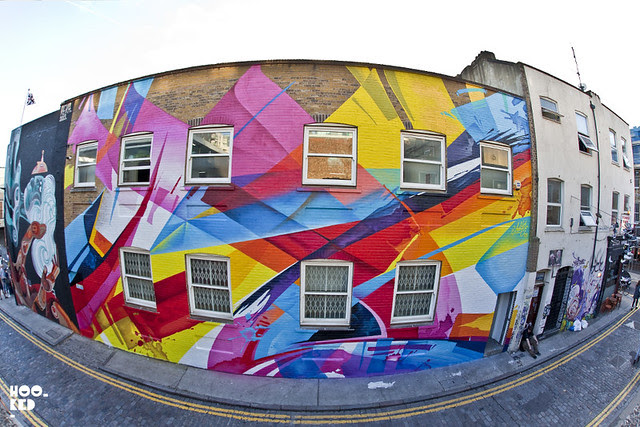 MadC - Graffiti in Shoreditch, Chance street