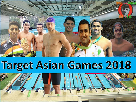 Asian Games 2018 Ke Liye 11 Swimmers Ke Sath Team India Ready