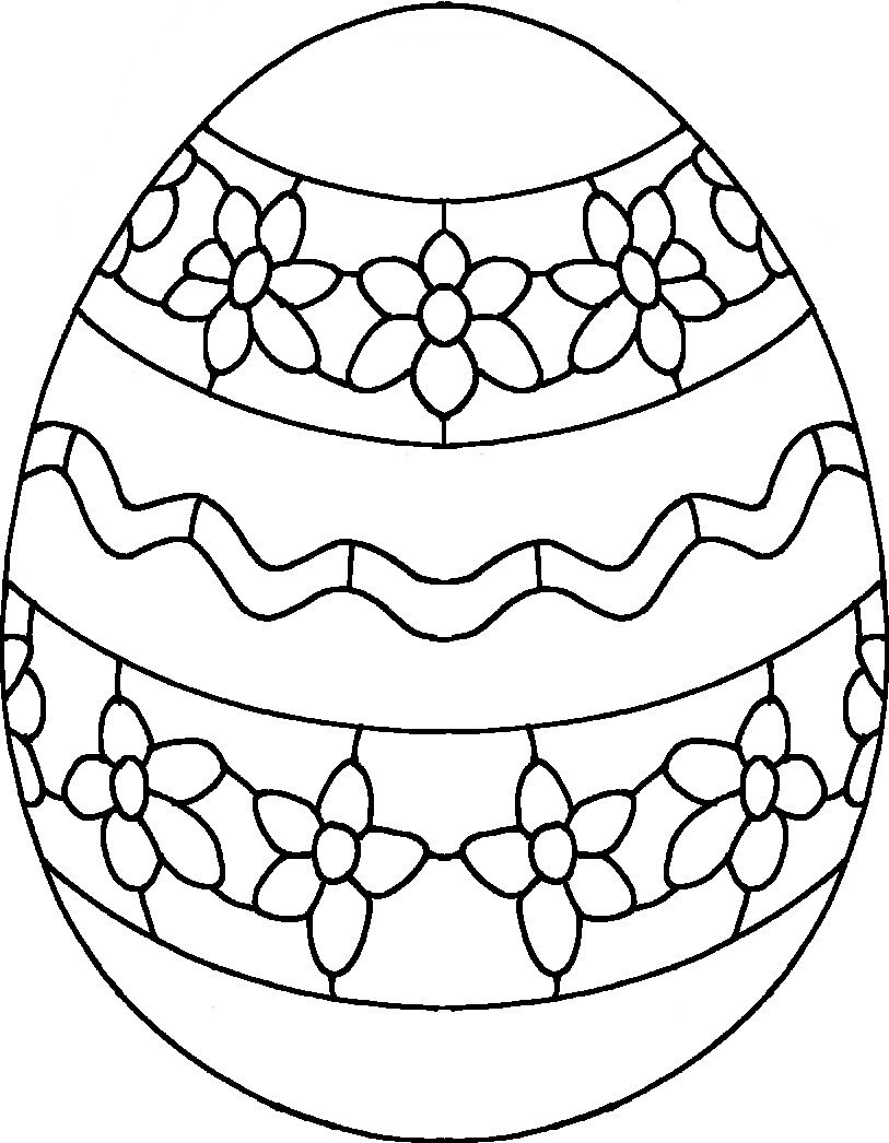 Hard Easter Coloring Pages at GetDrawings | Free download