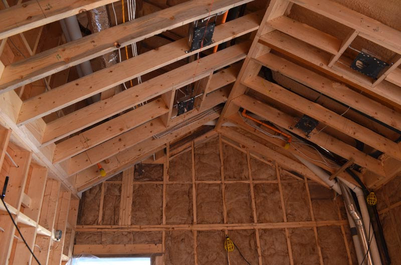 Dunbar House Wall And Floor Framing Home Building In Vancouver