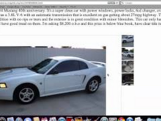 Craigslist Odessa Used Cars For Sale By Owner