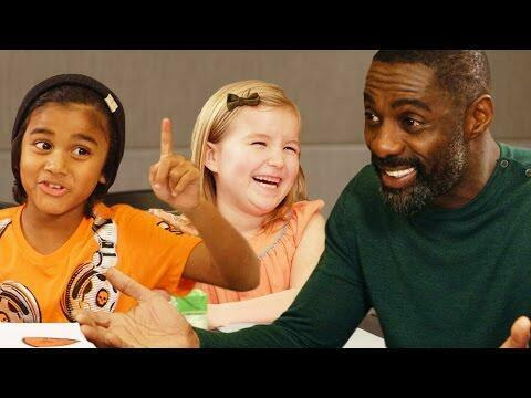 Idris Elba Gets Valentine's Day Advice From Kids | Deuce | Kiss 95.1