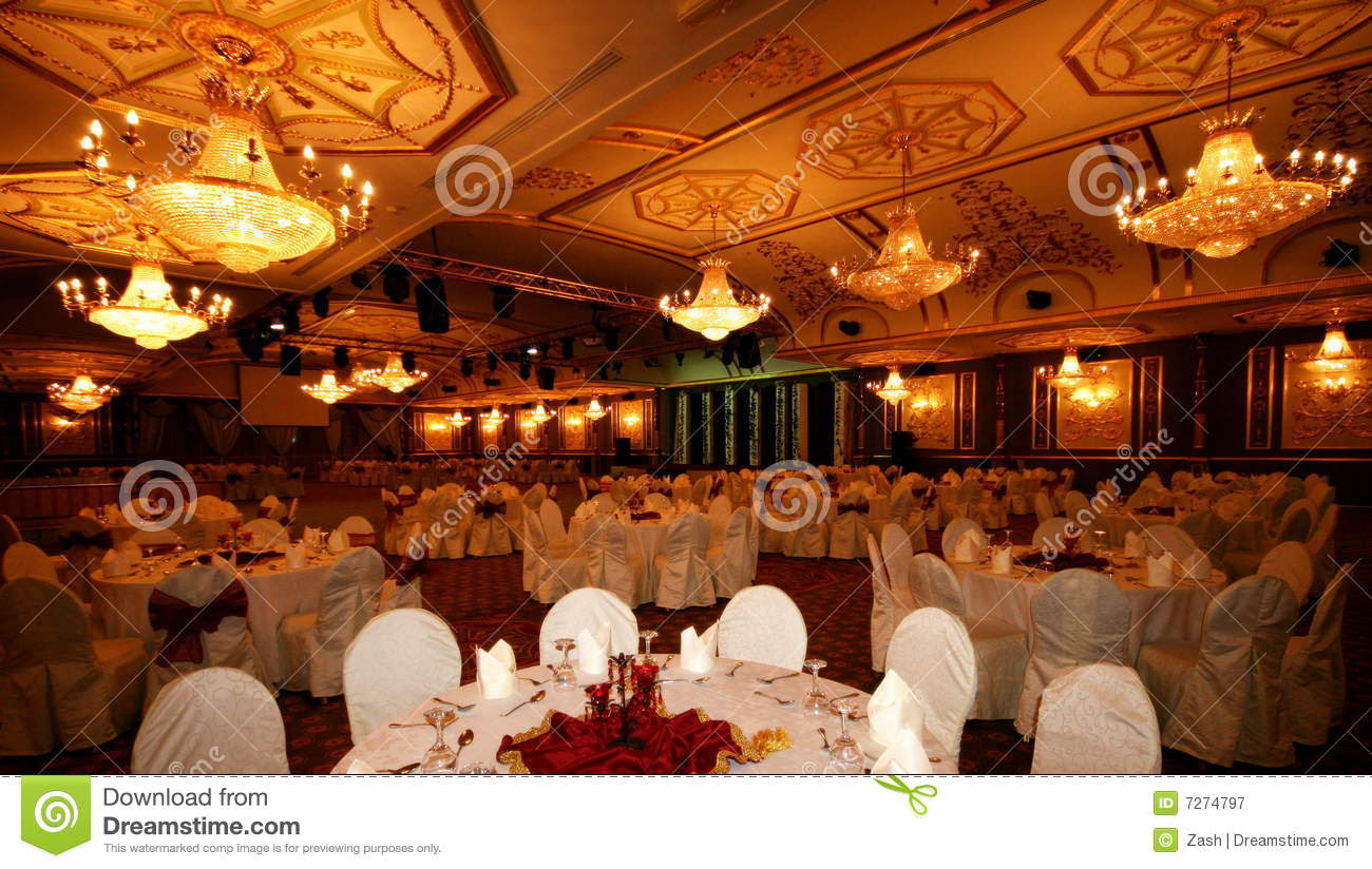Banquet Hall Royalty Free Stock Photography - Image: 7274797
