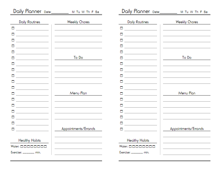 1000+ images about Free Printables: Planners on Pinterest ...