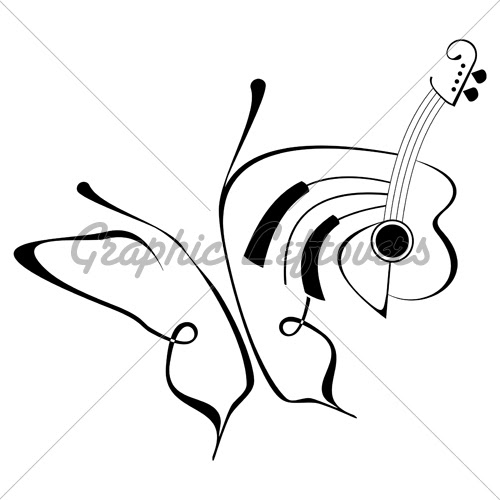 Butterfly Music 500 Clipart Panda Free Clipart Images