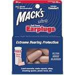 Mack's Ultra SafeSound Soft Foam Earplugs - 10 pair