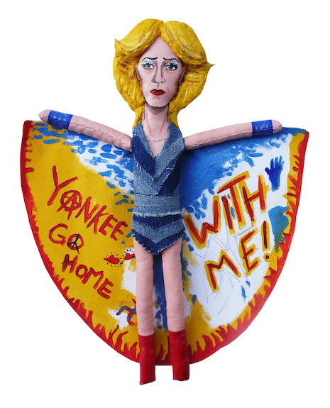 Hedwig (played by actor James Cameron Mitchell in the film and play Hedwig and the Angry Inch)