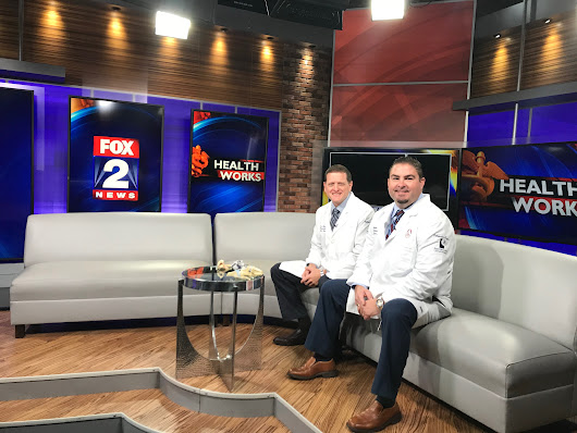 The Drs Are In! Performance Orthopedics Physicians featured live on Fox 2 News! - Performance Orthopedics