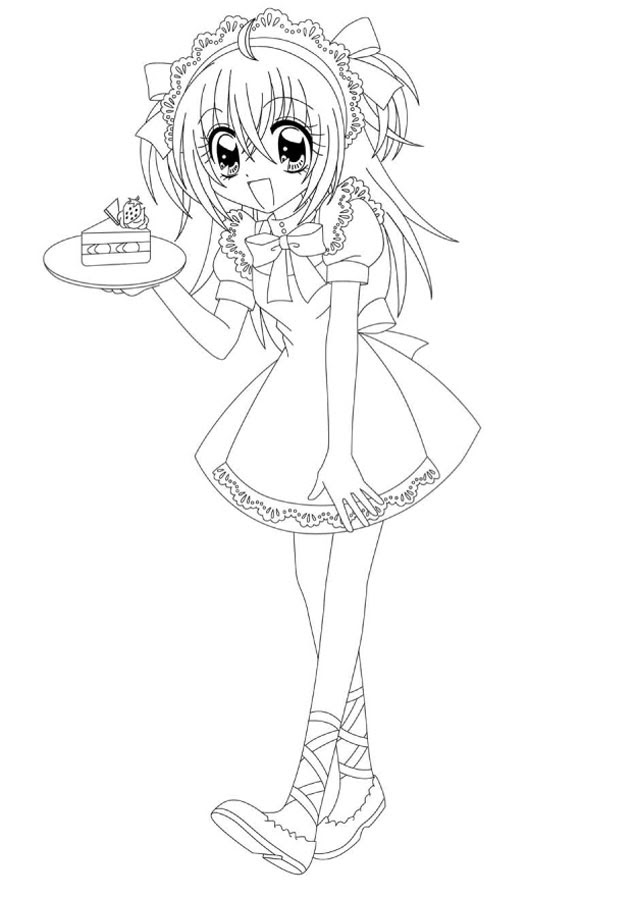 84 Dessins De Coloriage Manga à Imprimer Sur Laguerchecom Page 4