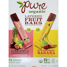 Pure Organic Layered Fruit Bars Pineapple