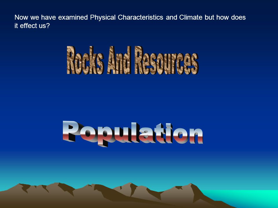 Rocks+And+Resources+Population