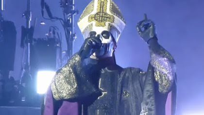 GHOST's TOBIAS FORGE: Being Mentored By METALLICA And IRON MAIDEN Is 'Very, Very Inspiring'