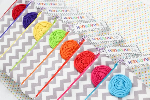 Bachelorette Party Gift Ideas - zipper pouches