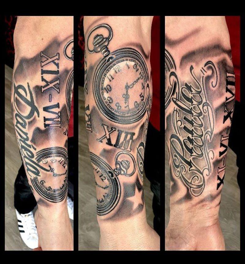 Reloj Y Nombres