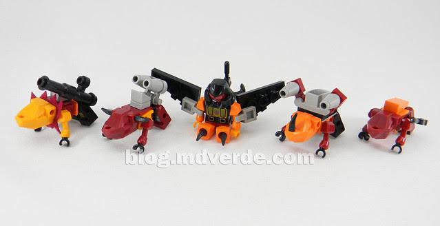 Transformers Predaking Kre-O - modo bestias
