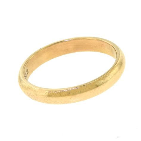 Cartier 1895 Wedding Band in 18k Rose Gold, Size 62 (10