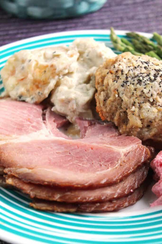 Root Beer Glazed Ham | The Spiffy Cookie