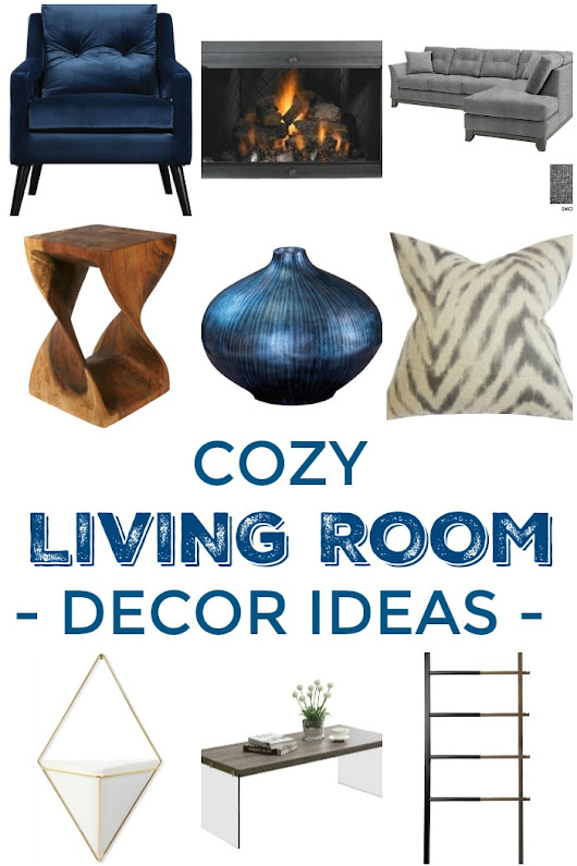 6 Decor Tips: How To Create A Cozy Living Room - Setting for Four