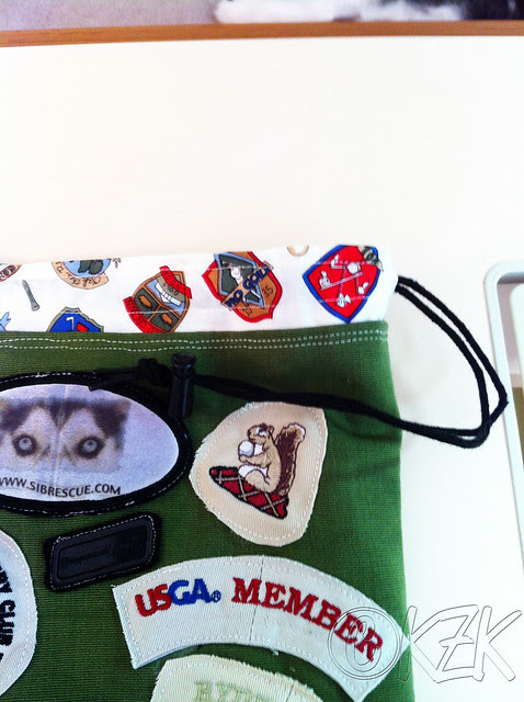 IMG_5007 Golf ball bag detail