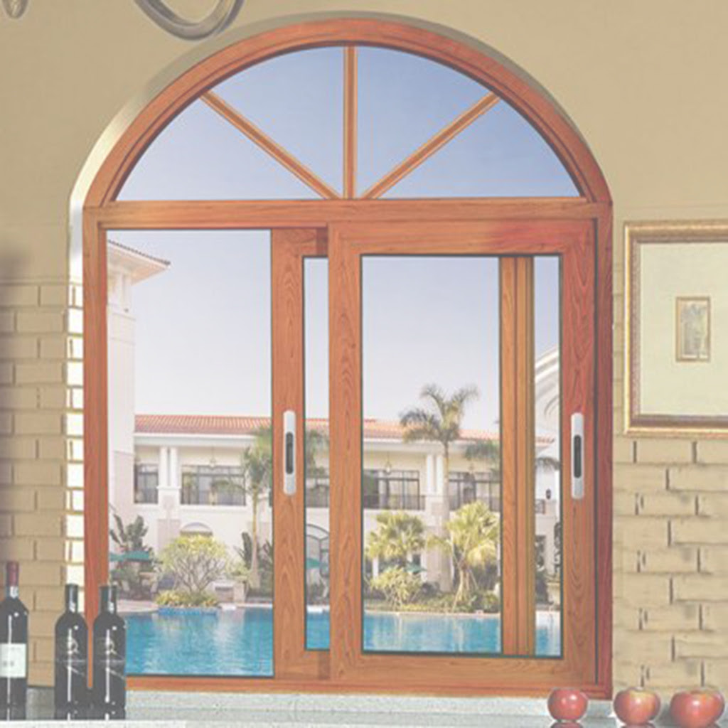 Elite China Aluminum Malaysia Wooden Color Frame Glass Door And Window Intended For Luxury Window Design Wooden Ideas House Generation