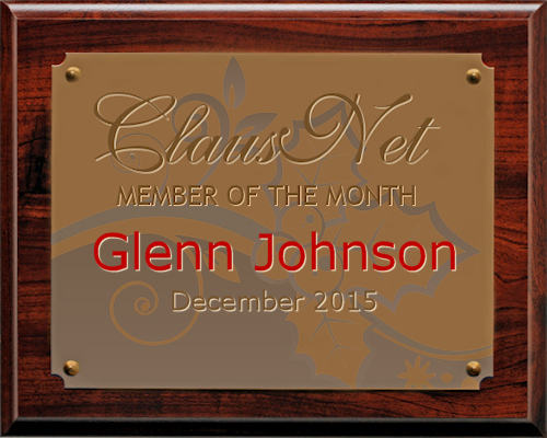 Featured Member of the Month - December 2015