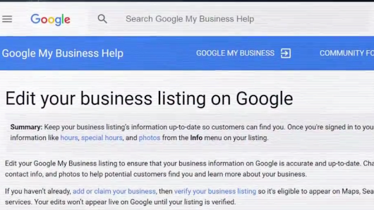 Scammers targeting business ads on Google, changing legitimate contact information
