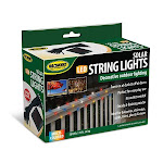 Jobar JB7839MULTI Solar String Light - Multi Color