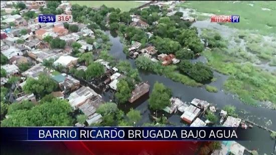 Resultado de imagen para El río Paraguay avanza y amenaza a los pobladores costeños