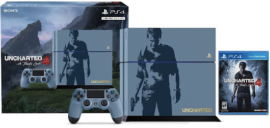 Sony Unveils Uncharted 4 PS4 Bundle - WholesGame