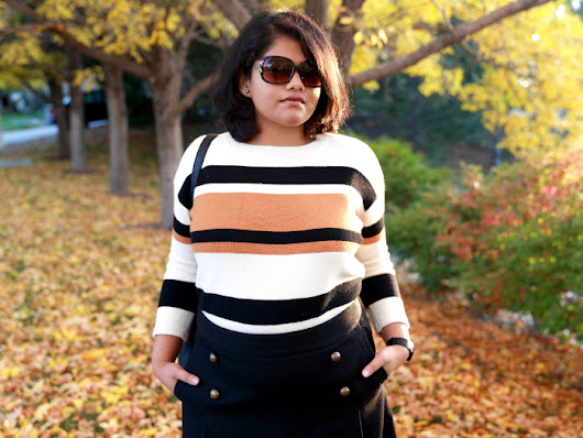 Why striped sweater is a fall essential? - Fancier's World