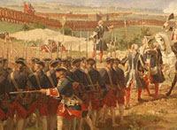 Táticas iniciais de armas de fogo na Revolução Americana