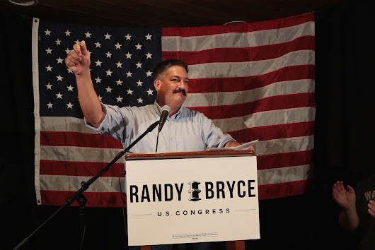 Randy 'Iron Stache' Bryce wins Democratic primary in Wisconsin race for Paul Ryan's seat