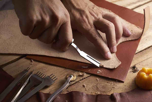 Get a Leather Craft Education: Brooklyn Shoe Space