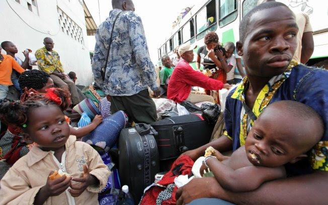 Resultado de imagem para refugiados no brasil