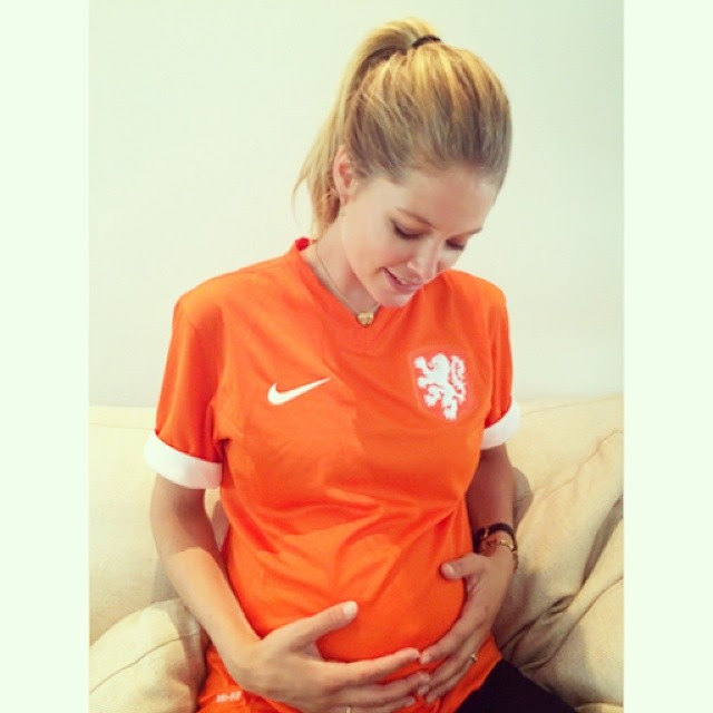 doutzen netherlands2 World Cup 2014: Models Showing Love for Their Teams